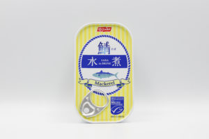 ニッスイ デンマーク産 鯖水煮の鯖缶1