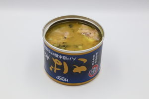 HOKO さば水煮 八戸港水揚げの鯖缶2