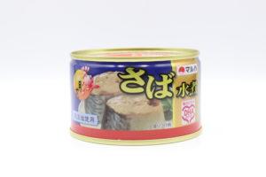 マルハニチロ さば水煮の鯖缶1