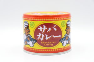 信田缶詰 サバカレーの鯖缶1