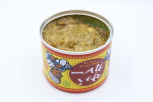 信田缶詰 サバカレーの鯖缶3