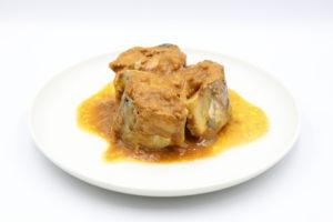高木商店 鯖カレー煮の鯖缶3