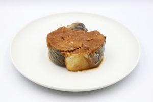 田村長 鯖みそ煮の鯖缶3