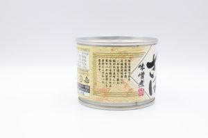高木商店 寒さば味噌煮の鯖缶2