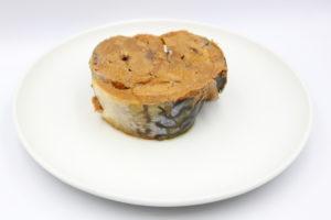 小浜海産物 鯖 味付 醤油煮の鯖缶4