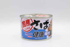 はごろも さばで健康 味付(醤油煮)の鯖缶1
