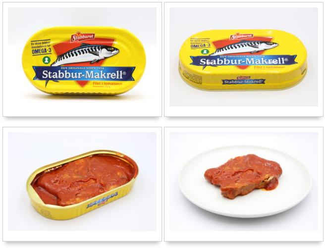 スタブラ さばフィレ(トマトソース)鯖缶