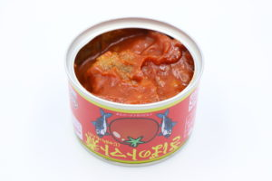 マルハニチロ さばのトマト煮の鯖缶3