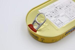 プルタブを倒したスタブラ サバフィレ(トマトソース)鯖缶