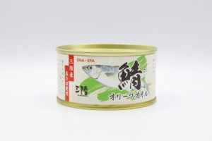気仙沼ほてい 鯖オリーブオイル鯖缶1
