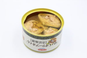 宝幸(HOKO)サバ オリーブオイル(さば油漬)の鯖缶3