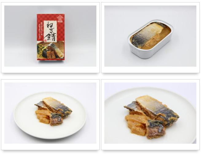 高木商店 ねぎ鯖 味噌だれサバ缶